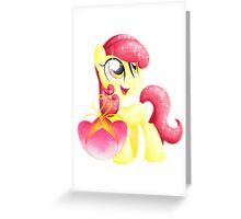 Crystal Applebloom Greeting Card