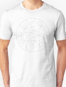 "Hidden in Plain View Mandala - T-Shirt/Clothing ""Color Your Own"" T-Shirt"