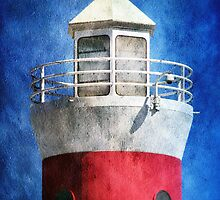 Private Lighthouse by SRowe Art