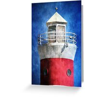 Private Lighthouse Greeting Card