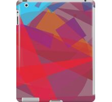 abstract color case design iPad Case/Skin