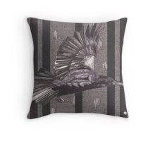 Poisoning the Shadows Throw Pillow