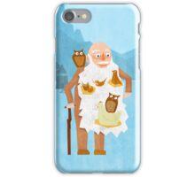 Old Man with Bird Nest Beard iPhone Case/Skin