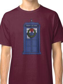 Christmas Tardis Classic T-Shirt