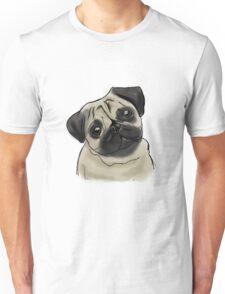 Pug Portrait Unisex T-Shirt