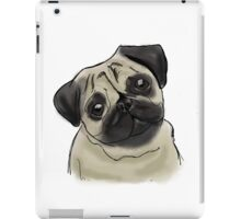 Pug Portrait iPad Case/Skin