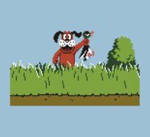 Duck Hunt Dog with Duck by Funkymunkey