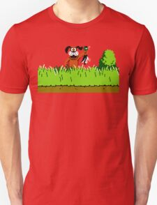 Duck Hunt Dog with Duck T-Shirt