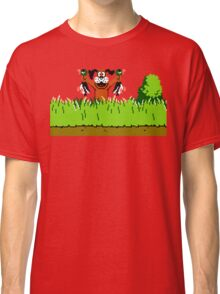 Duck Hunt Dog with 2 Ducks Classic T-Shirt