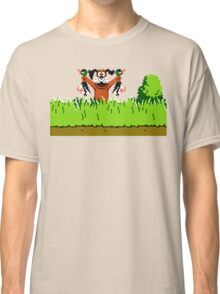 Duck Hunt Dog with 2 Ducks Classic T-Shirt