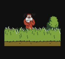 Duck Hunt Dog laughing Baby Tee