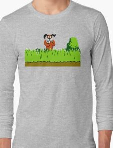 Duck Hunt Dog laughing Long Sleeve T-Shirt