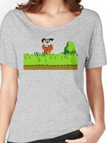 Duck Hunt Dog laughing Women's Relaxed Fit T-Shirt