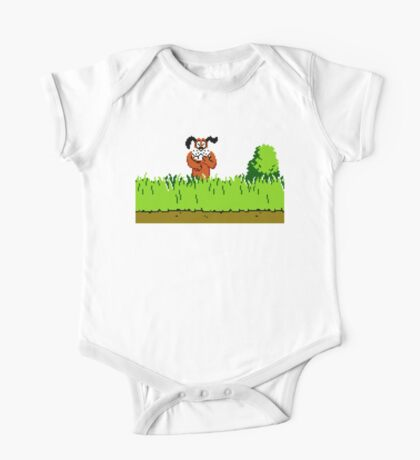 Duck Hunt Dog laughing One Piece - Short Sleeve