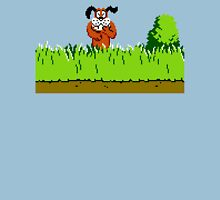 Duck Hunt Dog laughing Unisex T-Shirt