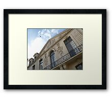 A French castle Framed Print