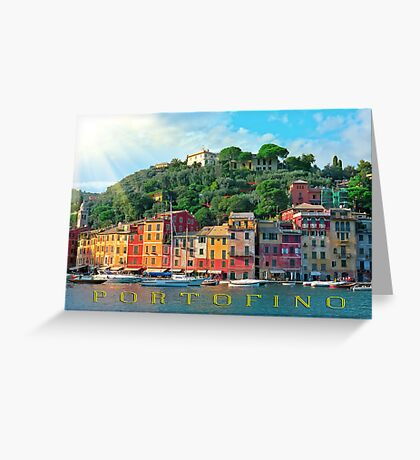 Portofino Italy Greeting Card