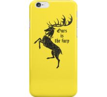 Baratheon  iPhone Case/Skin