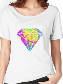 Candy Diamond Women's Relaxed Fit T-Shirt