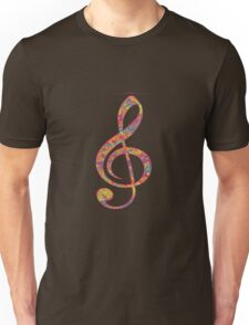 Psychedelic Music note 2 Unisex T-Shirt