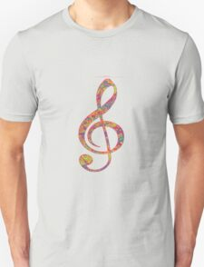 Psychedelic Music note 2 T-Shirt