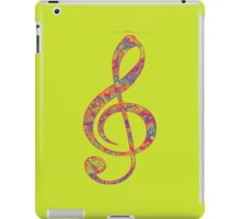 Psychedelic Music note 2 iPad Case/Skin