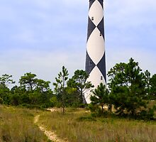 Pathway to Cape Lookout Lighthouse by Kenneth Keifer