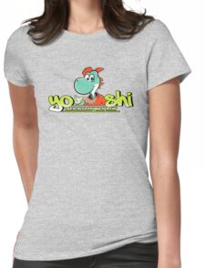 Yo! Shi! (no background) Womens Fitted T-Shirt