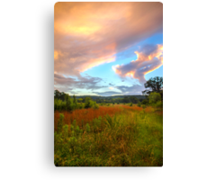 Alabama Sunset Canvas Print
