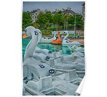 Plastic Swans Poster