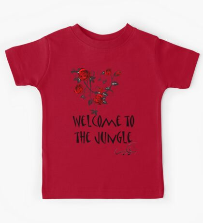 Welcome to the Jungle Kids Tee