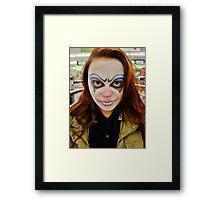 Clowning. Framed Print