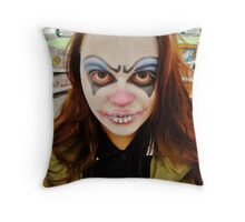 Clowning. Throw Pillow