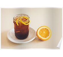Glass of Ice Tea Poster