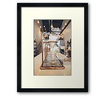 Gourmet Filter Coffee Setup Framed Print