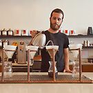 Barista Preparing Gourmet Filter Coffee by visualspectrum