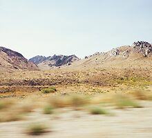 Dry Sierra Nevada Landscape by visualspectrum