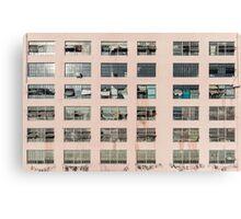Factory Facade Canvas Print