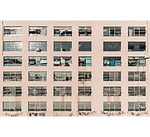Factory Facade Photographic Print