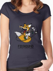 Fox Hound Women's Fitted Scoop T-Shirt