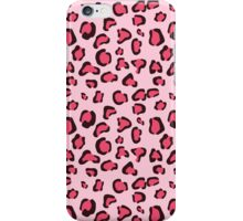 Pink Leopard Print Pattern iPhone Case/Skin
