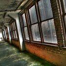 Old Garage Windows by Michael  Herrfurth