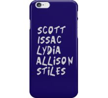 The McCall Pack - V.2 iPhone Case/Skin