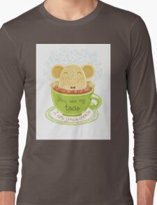 Tea and Cookie - Rondy the Elephant Long Sleeve T-Shirt