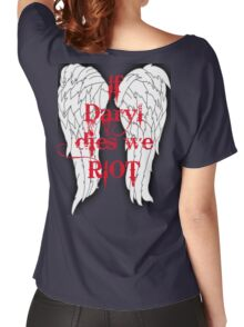If Daryl Dies... Women's Relaxed Fit T-Shirt