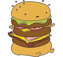 Burger Got Back Photographic Print