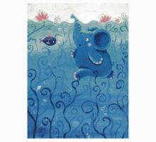 Underwater Adventure - Rondy the Elephant Painting Kids Clothes