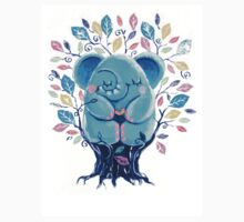 Hiding Place - Rondy the Elephant Sitting In a Tree One Piece - Short Sleeve