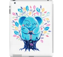 Hiding Place - Rondy the Elephant Sitting In a Tree iPad Case/Skin