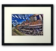 Coopersville & Marne Railway: Coopersville, Michigan Framed Print